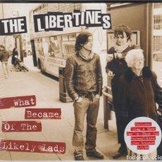 CDs de Música: THE LIBERTINES CD SINGLE WHAT BECAME OF THE LIKELY LADS 2004 3 TEMAS (PRECINTADO). Lote 174495689