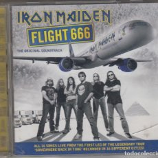 CDs de Música: IRON MAIDEN DOBLE CD FLIGHT 666 THE ORIGINAL SOUNDTRACK 2009 EUROPE. Lote 174495939