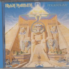 CDs de Música: IRON MAIDEN CD POWERSLAVE MADE IN HOLLAND. Lote 174496074