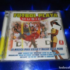 CDs de Música: FUTBOL PLAYA MUSIC - 2 CD - NM1853CDTV - MAX MUSIC - PRECINTADO - WHIGFIELD - THE LION .... Lote 174497455