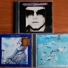 CDs de Música: ELTON JOHN LOTE 3 CD - EMPTY SKY - BLUE MOVES MCA 1 CD - VICTIM OF LOVE. Lote 174497544