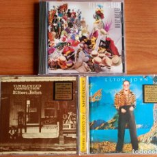 CDs de Música: ELTON JOHN LOTE 3 CD - REG STRIKES BACK - TUMBLEWEED CONNECTION - CARIBOU. Lote 174497618