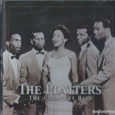 CDs de Música: THE PLATTERS CD GREATEST HITS (COMPRA MINIMA 15 EUR) SOUL. Lote 174518375