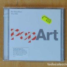 CDs de Música: PET SHOP BOYS - POPART / THE HITS - 2 CD. Lote 174544878