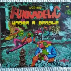 CDs de Música: FUNKADELIC - '' UNDER A GROOVE '' 3 CD + BOOKLET 36-PAGE BOX SET 2003 UK SEALED. Lote 174571975