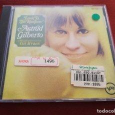 CDs de Música: ASTRUD GILBERTO. LOOK TO THE RAINBOW (CD). Lote 174580059