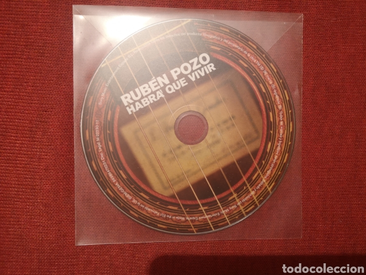 LIQUIDACIÓN TOTAL RUBÉN POZO HABRÁ QUE VIVIR CD NUEVO (Música - CD's Rock)