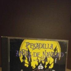 CDs de Música: CD PESADILLA EN NAVIDAD DE TIM BURTON BANDA SONORA EN ESPAÑOL. Lote 174712647