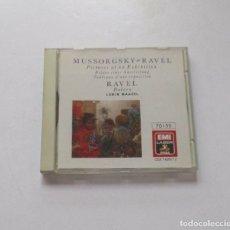 CDs de Música: RAVEL, BOLERO - MUSSORGSKY. Lote 174953203