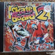 CDs de Música: SKATE BOARD 2 , RECOPILATORIO MÚSICA ELECTRÓNICA, CD 1991 PERFECTO ESTADO .. Lote 174954475