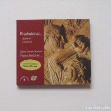 CDs de Música: KARCHATURIAN - ORCHESTRE DU THEATRE BOLCHOI, EUGENI SVETLANOV. Lote 174958714