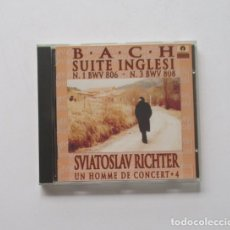 CDs de Música: BACH, SUITE INGLESI - SVIATOSLAV RICHTER. Lote 174958892