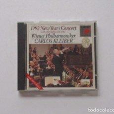 CDs de Música: 1992 NEW YEAR'S CONCERT - WIENER PHILHARMONIKER, CARLOS KLEIBER. Lote 174959095