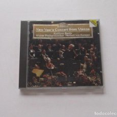 CDs de Música: NEW YEAR'S CONCERT FROM VIENNA - LIVE RECORDING. Lote 174959340