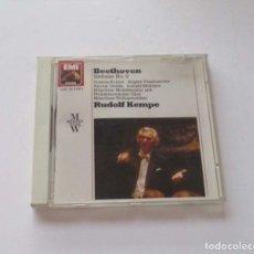 CDs de Música: BEETHOVEN - SIMPHONIE NO 9 - RUDOLF KEMPE. Lote 174962193