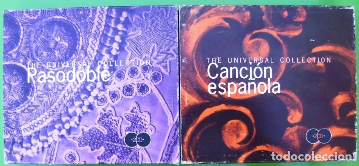 LOTE 4 CDS - PASODOBLES - CANCION ESPAÑOLA (Música - CD's Otros Estilos)