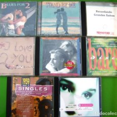 CDs de Música: LOTE DE 8 CDS RECOPILATORIOS - I LOVE YOU,STAND BY ME, SOLO ELLAS, BARES.... Lote 174978823