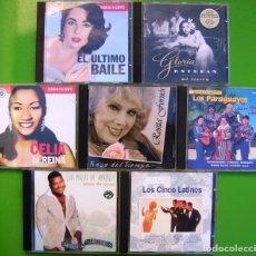 CDs de Música: LOTE DE 7 CDS LATINOS (GLORIA ESTEFAN, LUIS MIGUEL DEL AMARGUE, LOS 5 LATINOS, CELIA CRUZ...). Lote 174979538