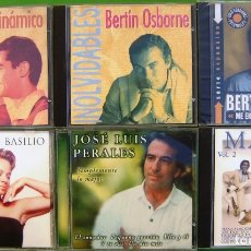 CDs de Música: LOTE 6 CDS ESPAÑOLES (DUO DINAMICO, MARFIL, B.OSBORNE, P.SAN BASILIO, JOSE LUIS PERALES). Lote 174980377
