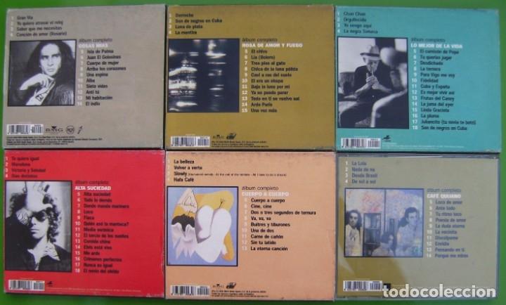 CDs de Música: Lote 6 CDs -Lo mejor de los mejores- Aute, Ana Belen, Calamaro, Cafe Quijano, Compay Segundo - Foto 2 - 174983070