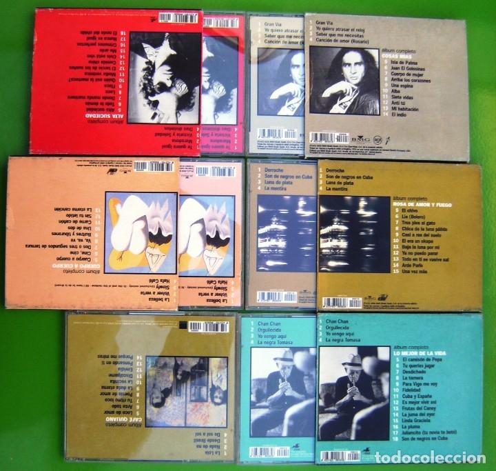 CDs de Música: Lote 6 CDs -Lo mejor de los mejores- Aute, Ana Belen, Calamaro, Cafe Quijano, Compay Segundo - Foto 4 - 174983070