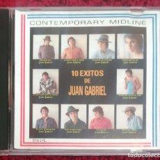 CDs de Música: JUAN GABRIEL (10 EXITOS DE JUAN GABRIEL) CD EDICIÓN USA. Lote 174986623