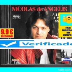 CDs de Música: NICOLAS DE ANGELIS - L´AMOUR A PLEIN COEUR - GUITARRA CLÁSICA ESPAÑOLA - VERIFICADO - 1986 - RARO. Lote 174996863