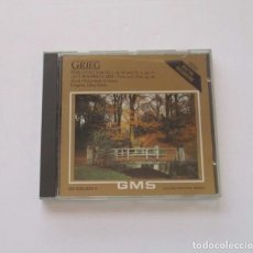 CDs de Música: GRIEG - SLOVAK SYMPHONY ORCHESTRA, LIBRO PESEK. Lote 175001115