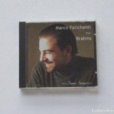 CDs de Música: BRAHMS, PIANO - MARCO FATICHENTI. Lote 175020743