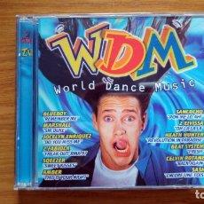 CD de Música: WDM WORLD DANCE MUSIC (1997) MAX MUSIC. Lote 175028530