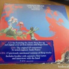 CDs de Música: RAR 2 CD'S SET. URIAH HEEP. THE MAGICIANS BIRTHDAY. DIGIPACK. SEALED. PRECINTADO. Lote 175046737