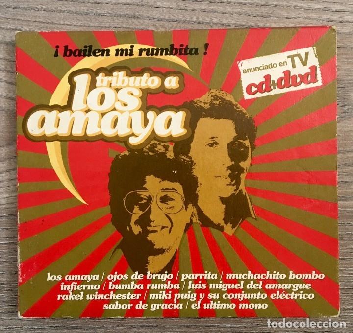 LOS AMAYA -CD Y DVD (Música - CD's Flamenco, Canción española y Cuplé)