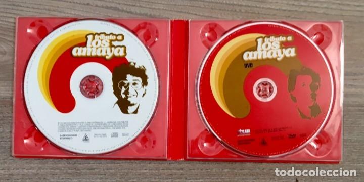 CDs de Música: LOS AMAYA -CD Y DVD - Foto 2 - 175059635