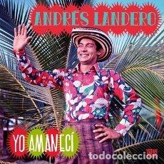 CDs de Música: ANDRÉS LANDERO - YO AMANECI - DIGIPAK. Lote 175073634