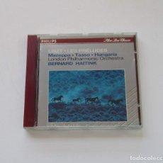 CDs de Música: LISZT, LES PRELUDES - LONDON PHILHARMONIC ORCHESTRA, BERNARD HAITINK. Lote 175085342