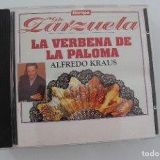 CDs de Música: ZARZUELA LA VERBENA DE LA PALOMA ALFREDO KLAUS. Lote 175126563