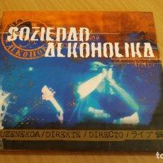 CDs de Música: SOZIEDAD ALKOHOLIKA - DIRECTO (DIGIPACK). Lote 175149622