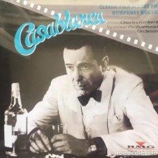 CDs de Música: CLASSIC FILM SCORES FOR HUMPHREY BOGART * CD * ULTRARARE SPAIN 1992 * SIN CÓDIGO DE BARRAS. Lote 175162248