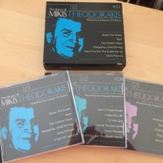 CDs de Música: THE MUSIC OF MIKIS THEODORAKIS- THE POPULAR ORCHESTRA- 3 CD'S. Lote 175187329
