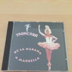 CDs de Música: TROPICANA DE LA HABANA A MARBELLA -BARSA PROMOCIONES 1995. Lote 175189067
