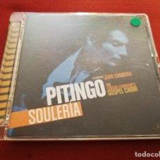 CDs de Música: PITINGO. SOULERÍA (CD + DVD). Lote 175204107