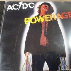 CDs de Música: AC DC POWERAGE. Lote 175212882