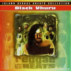 CDs de Música: BLACK UHURU - REGGAE GREATS - CD . Lote 175220858