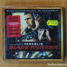 CDs de Música: VANGELIS - BLADE RUNNER TRILOGY - BSO - 3 CD. Lote 175249564