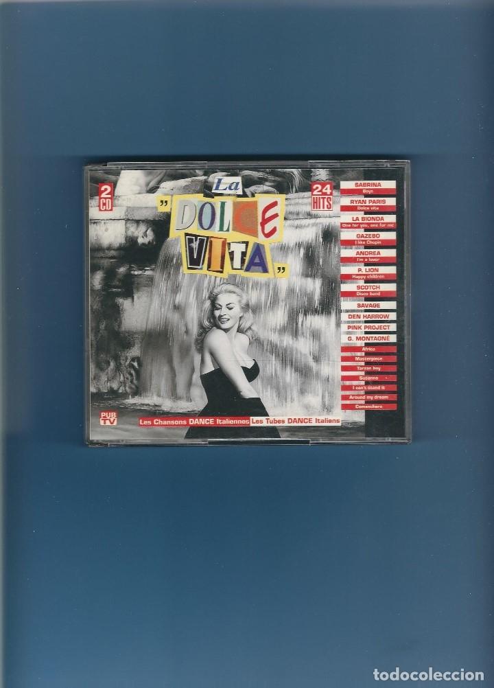 2 CD'S - LA DOLCE VITA - 24 CANCIONES ITALO DANCE (Música - CD's Disco y Dance)