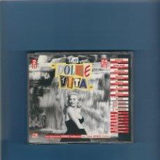 CDs de Música: 2 CD'S - LA DOLCE VITA - 24 CANCIONES ITALO DANCE. Lote 175318750