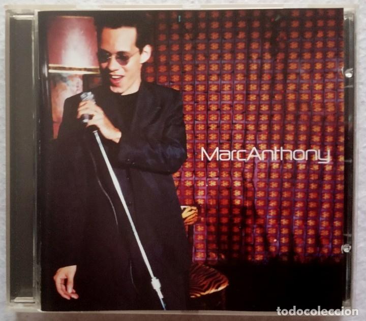 MARC ANTHONY - CD 1999 - COLUMBIA (Música - CD's Latina)