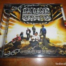 CDs de Música: LA CAJA DE PANDORA ACUERDATE BIEN DE MI CARA CD ALBUM 2006 + PEGATINAS CONTIENE 14 TEMAS MARC PARROT. Lote 211722481