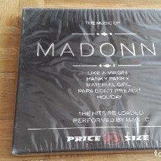 CDs de Música: CD ROCK - MADONNA - THE MUSIC OF - NUEVO - PRECINTADO - VER FOTO ADICIONAL. Lote 175329299
