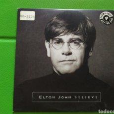 CDs de Música: ELTON JOHN BELIVE CDSINGLE PROMO. Lote 175339580